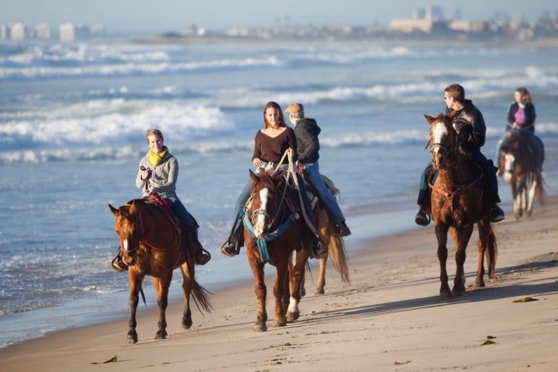 Horse Riding On The Beach California Best Beaches In World