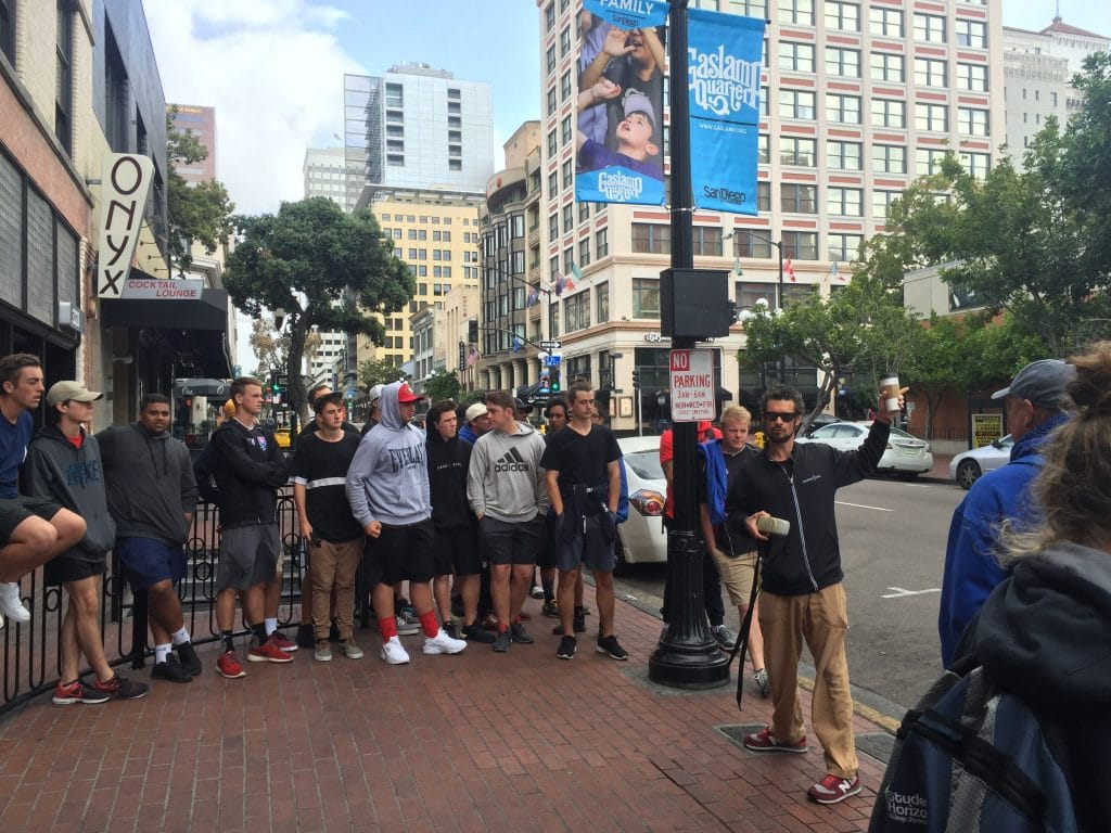 Another side of san diego tours walking tours another side of san the gaslamp quarter walking tour solutioingenieria Images